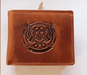 Wallet 2  skull