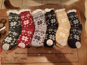 Dames sokken wol