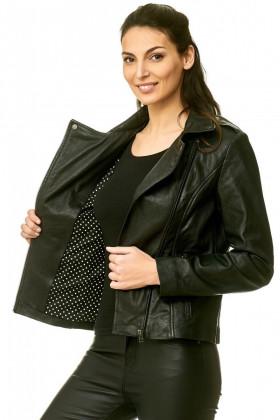 Leather jack lady  3