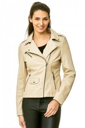 Leather jack lady  4