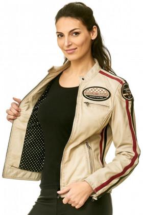 Leather jack lady  5